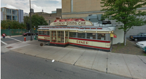 Mickey's Diner (from Google Streetview)